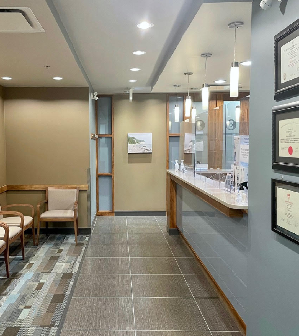 8 West Dental Care waiting area